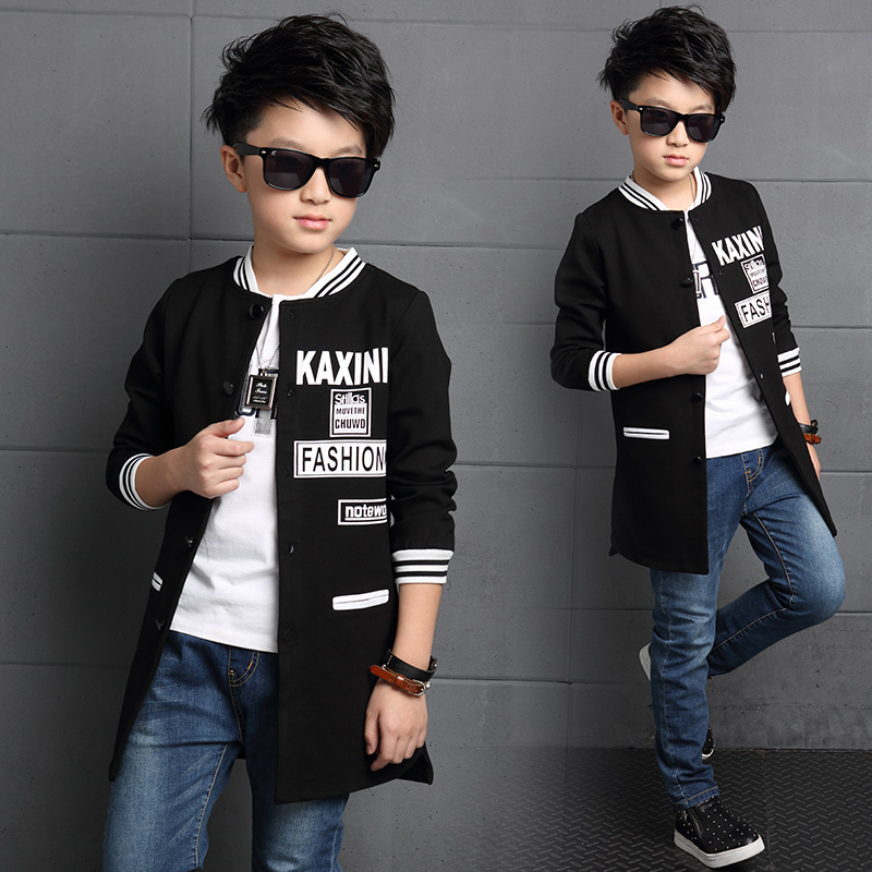 0cbedc032 Five to six years old boys coat autumn 2016 new boy big virgin spring  sports casual sweater autumn 12-1 5