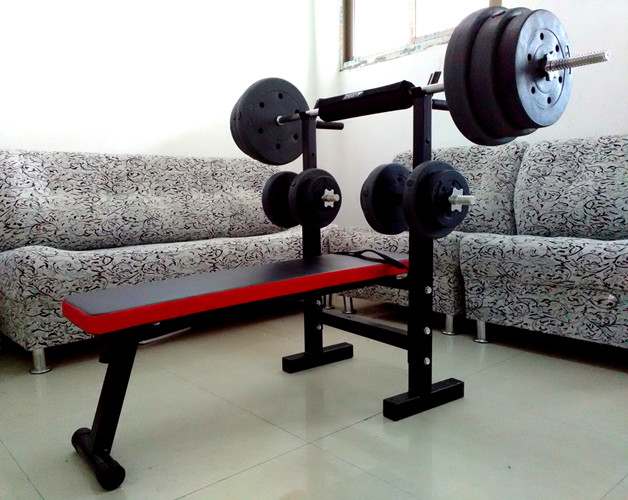 Prime Buy Foldable Home Bed With A Barbell Bench Press Unemploymentrelief Wooden Chair Designs For Living Room Unemploymentrelieforg