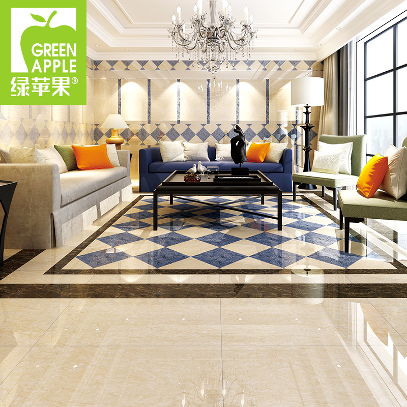 buy green apple tile 800x800 resistant tiles foshan imitation marble tile living room bedroom brick tile floor tile ceramic tiles in cheap price on - Green Tiles For Living Room Floor