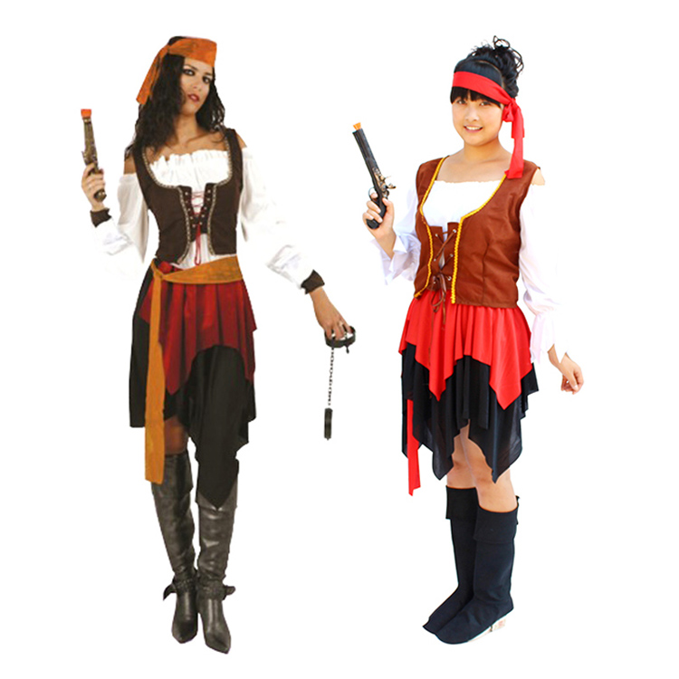 Buy Halloween pirate costume adult female pirate costume masquerade cosplay costumes adult small gong new clothes in Cheap Price on m.alibaba.com  sc 1 st  Alibaba & Buy Halloween pirate costume adult female pirate costume masquerade ...