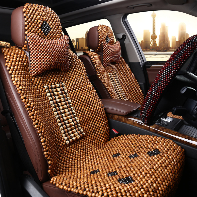 Buy Handmade Natural Wood Beads Summer Car Seat Cover Universal Liangdian Camphor In Cheap Price On Malibaba