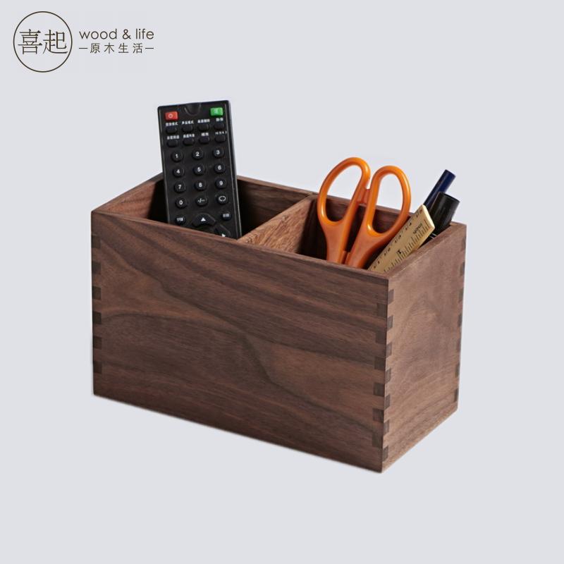 Buy Hi Hi Play Walnut Wood Pen Pen Creative Fashion Stationery Office  Desktop Debris Storage Box Storage Box Wooden Storage Box In Cheap Price On  M.alibaba. ...
