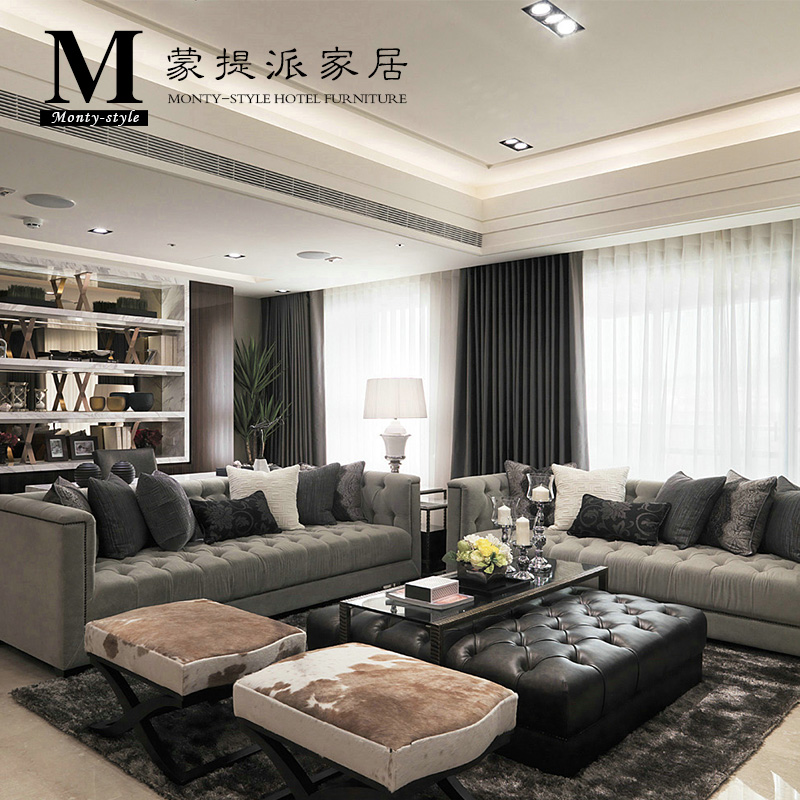 Buy Hotel Project Villa Club Model Room Furniture Custom Wood Delectable Shipping Furniture Model