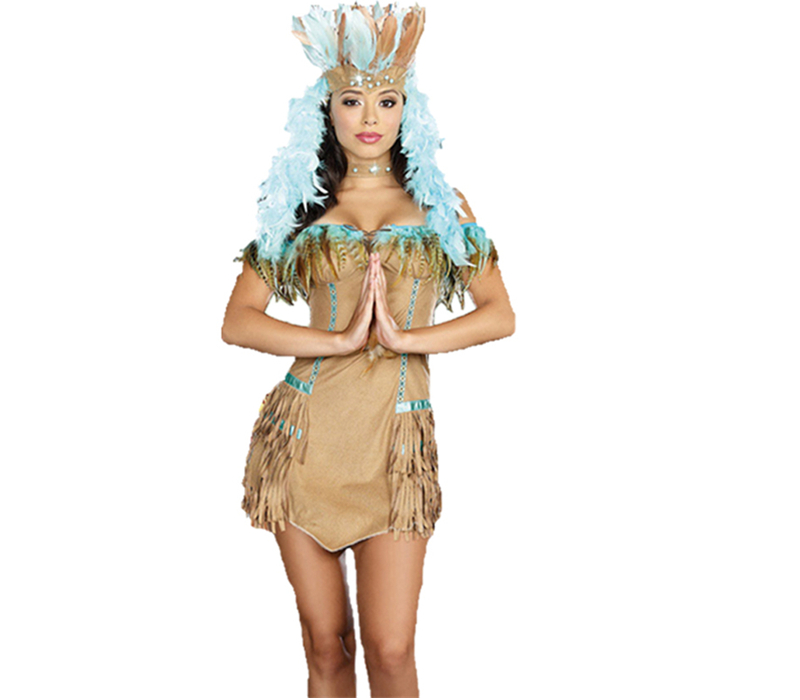 Buy Indian female models costumes halloween costume masquerade costume savage savage clothes indigenous peopleu0026#39;s day costume costumes ds in Cheap Price ...  sc 1 st  Alibaba & Buy Indian female models costumes halloween costume masquerade ...