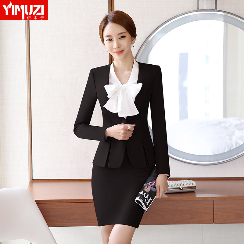 Buy Iraq Muzi White Collar Fall And Winter Clothes Women Wear Suits