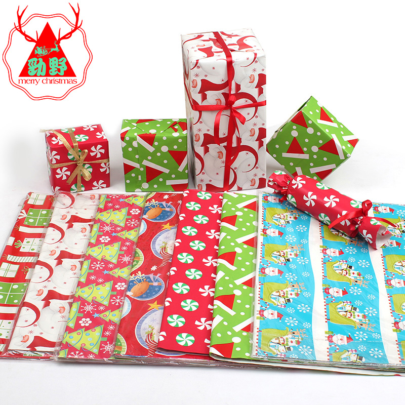 Buy chong jubilee gift apple christmas wrapping paper flowers jin ye confetti christmas decoration christmas gift wrapping paper wrapping paper wrapping paper bag book gift box paper mightylinksfo