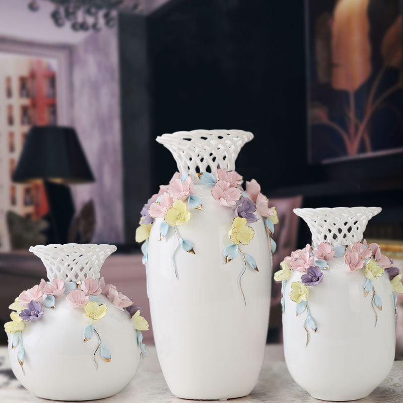 Buy Jingdezhen Porcelain Ceramic Vase Ornaments European Home