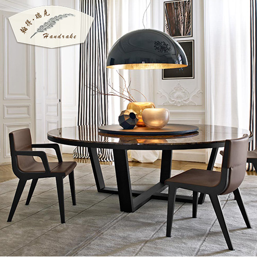 Buy John Much Rick Custom Modern Round Dining Table Minimalist