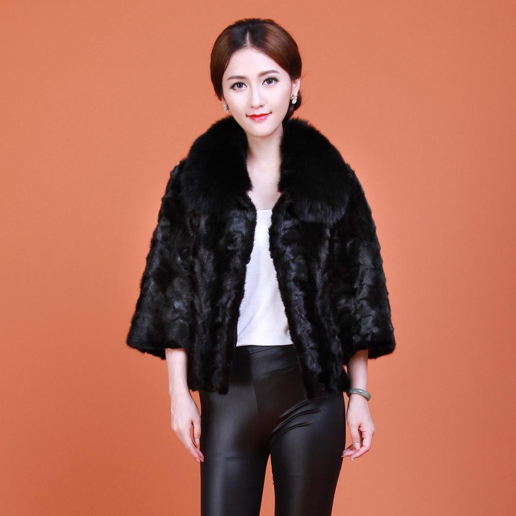 Buy Kai wei ya haining mink fight mink fur mink coat mink coat fox ...
