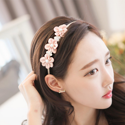 Buy know borderies small white daisy flower hair band headband hair know borderies size sweet pearl flower hair band rabbit ears headband pressure bangs hairpin hairpin hair ornaments head ornaments mightylinksfo