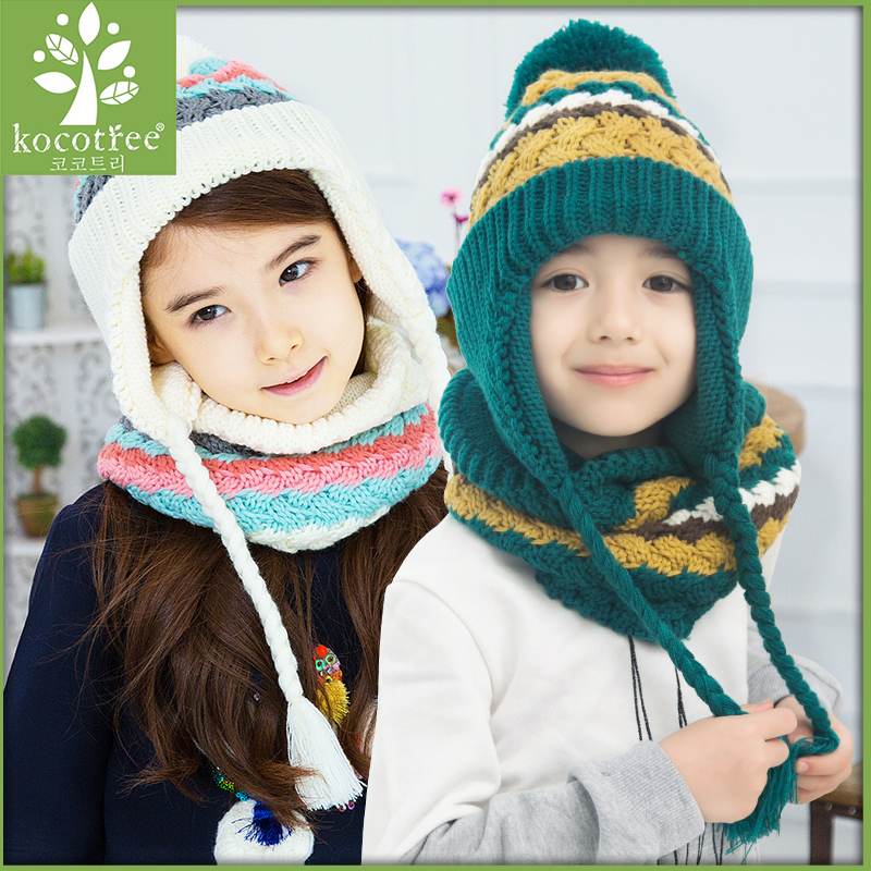 Buy Korea kk tree fall and winter children hat scarf piece baby child  models warm and comfortable hat set in Cheap Price on m.alibaba.com 312b657c1866