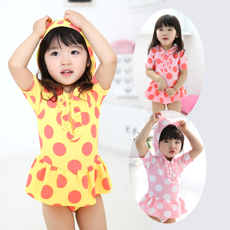 b9c9812a22a09 Buy Korean version of the cute infant children siamese skirt swimsuit girls  swimsuit children swimsuit baby swimwear free shipping in Cheap Price on ...