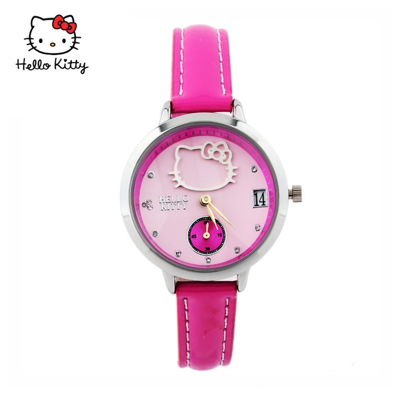 27a1aa70f Buy Kt hello kitty watches female korean fashion ladies quartz watch teenage  student girl fashion table in Cheap Price on Alibaba.com