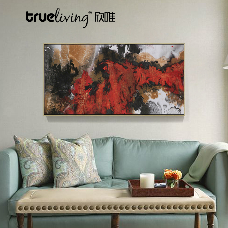 Buy Modern Abstract Painting Decorative Painting The Living Room Sofa Wall  Painting Faddish Art Restaurant Entrance Corridor Wall Paintings Banner In  Cheap ...