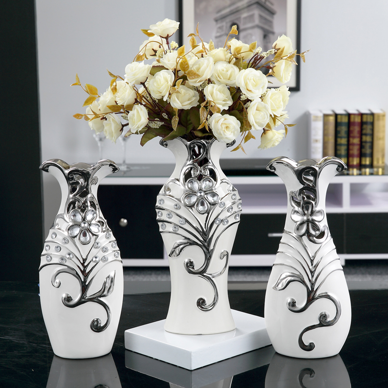 Buy Creative ceramic vase ornaments modern minimalist living room ...