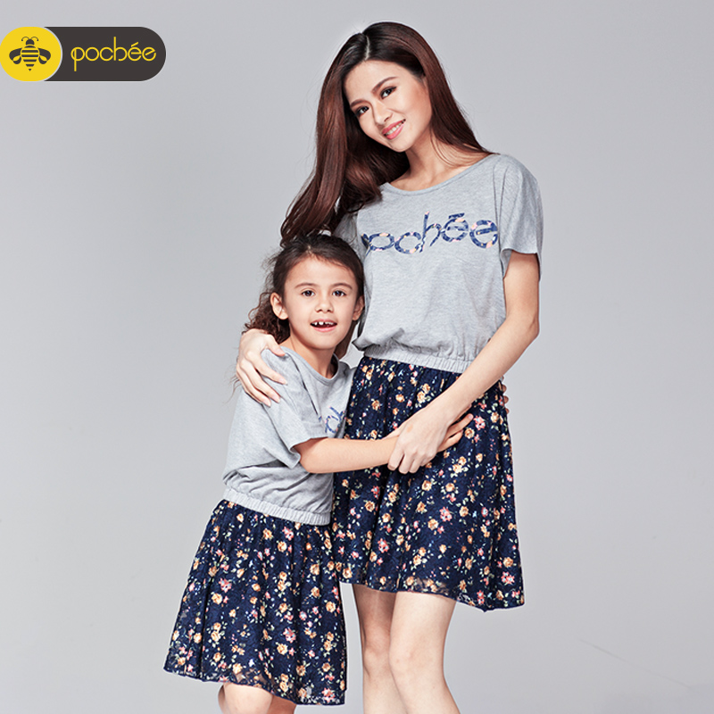 9b99e51ba3a Buy Mother dress summer dress 2016 new korean children  39 s clothing big  yards short sleeve lace dress family fitted summer in Cheap Price on  m.alibaba.com