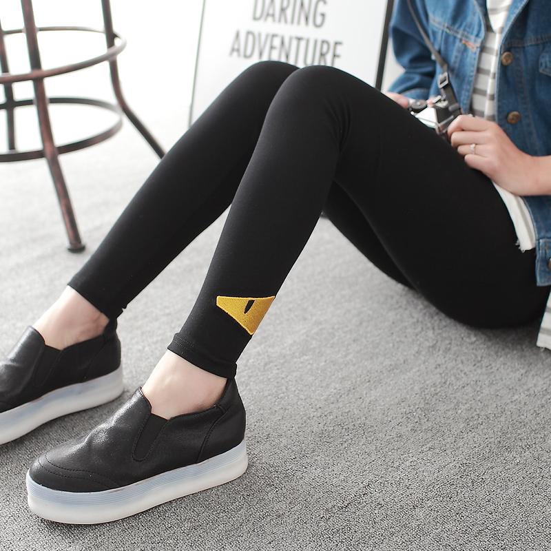 584fce5ca6afa1 Buy Ms. outer wear leggings trousers autumn thin section waist black  pantyhose feet pants pencil pants big yards summer in Cheap Price on  m.alibaba.com