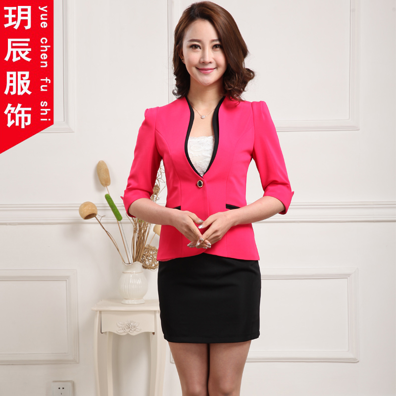 cb00152b45ab Buy New spring and summer wear womens skirt suits chaps korean slim dress  suit overalls interview dress in Cheap Price on Alibaba.com