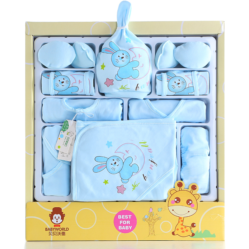 d6c0dd7ad40d1 Buy Newborn baby gift sets spring and summer newborn baby clothes cotton  supplies newborn baby full moon gift in Cheap Price on m.alibaba.com