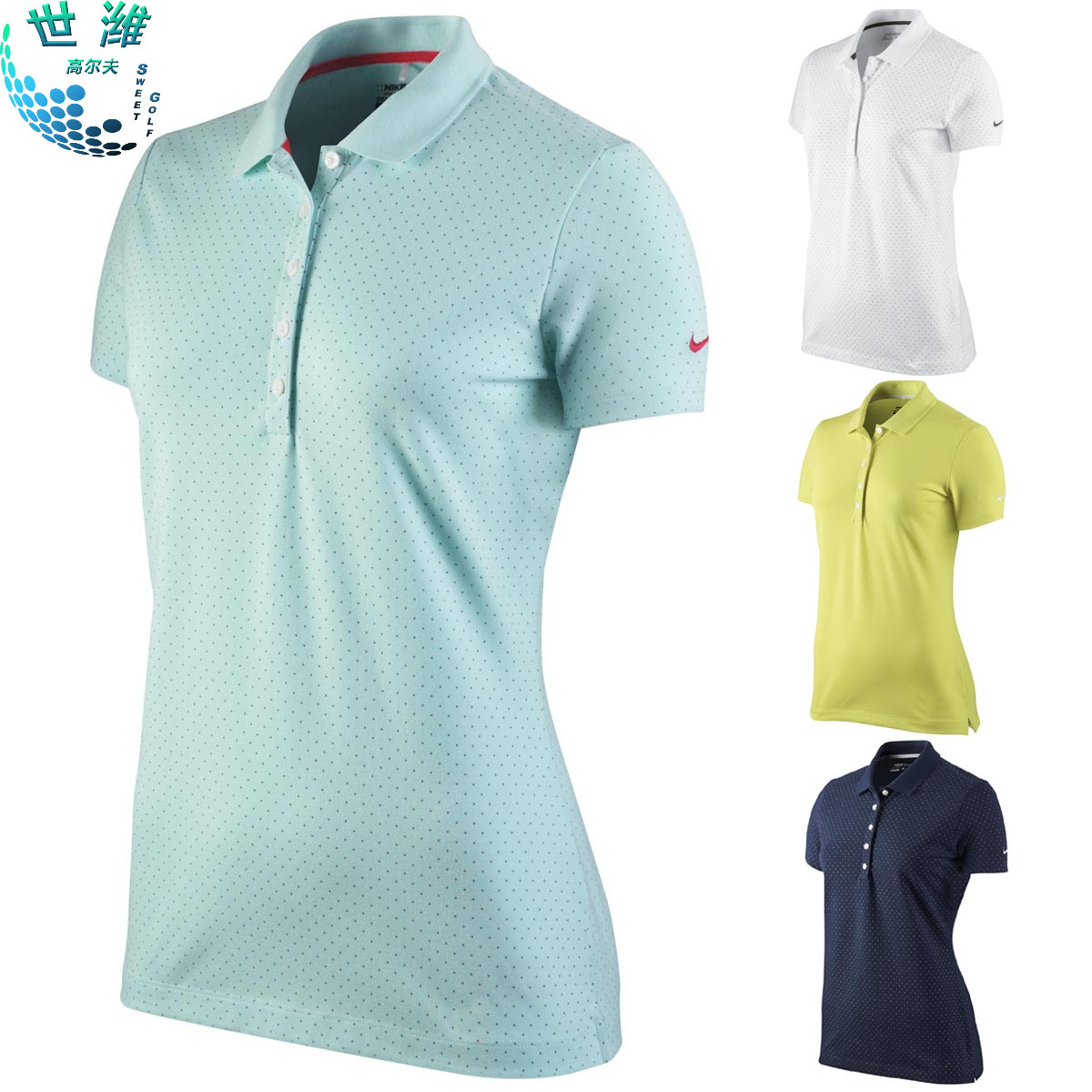 2a2b33b9e03 Buy Nike golf apparel nike golf golf clothes counter genuine ladies short  sleeve t-shirt polo shirt in Cheap Price on m.alibaba.com