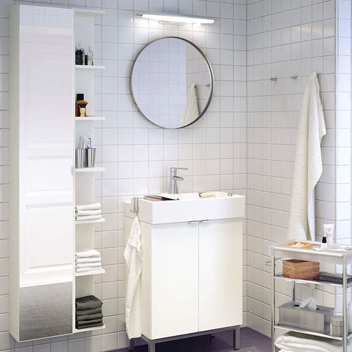 Buy Nordic Ikea White Brick Tile Bathroom Tiles Kitchen Wall