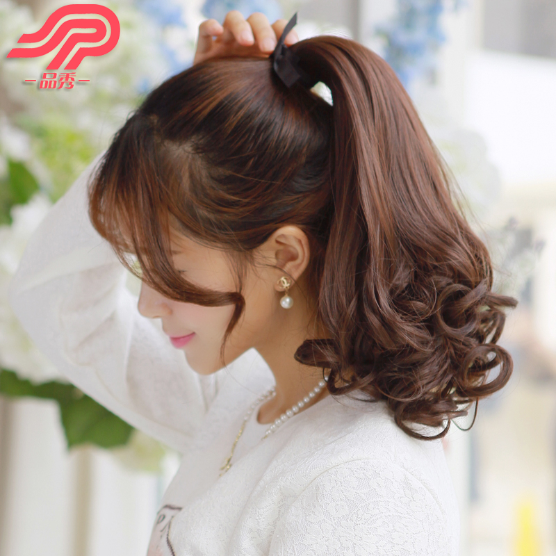 Buy Pear Volume Ponytail Wig Ponytail Wig Female Short Hair And Long