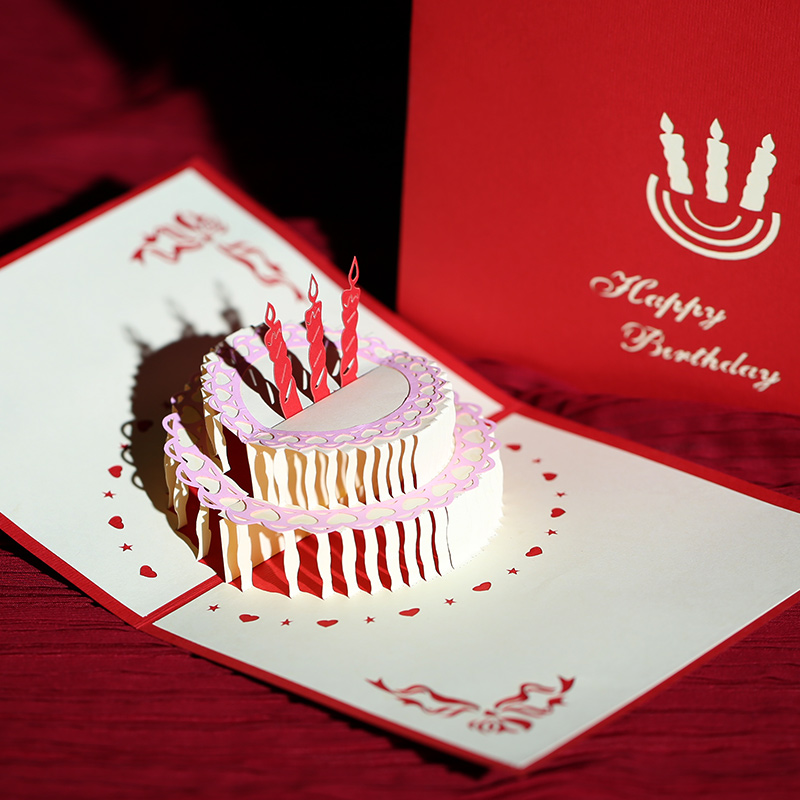 Buy Philippines To Find Creative Stereoscopic 3d Handmade Greeting Cards Diy Personalized Custom Business Staff Birthday Card In Cheap Price