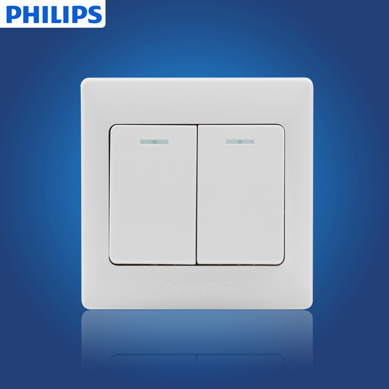 Buy Philips Switch Socket Q7 Slim Two Large Toggle Dual Control In Cheap Price On Malibaba