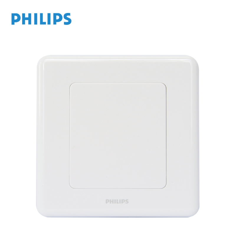 Philips Switch Socket Panel Org Series White Blank Wall Power 86 Type Coverings