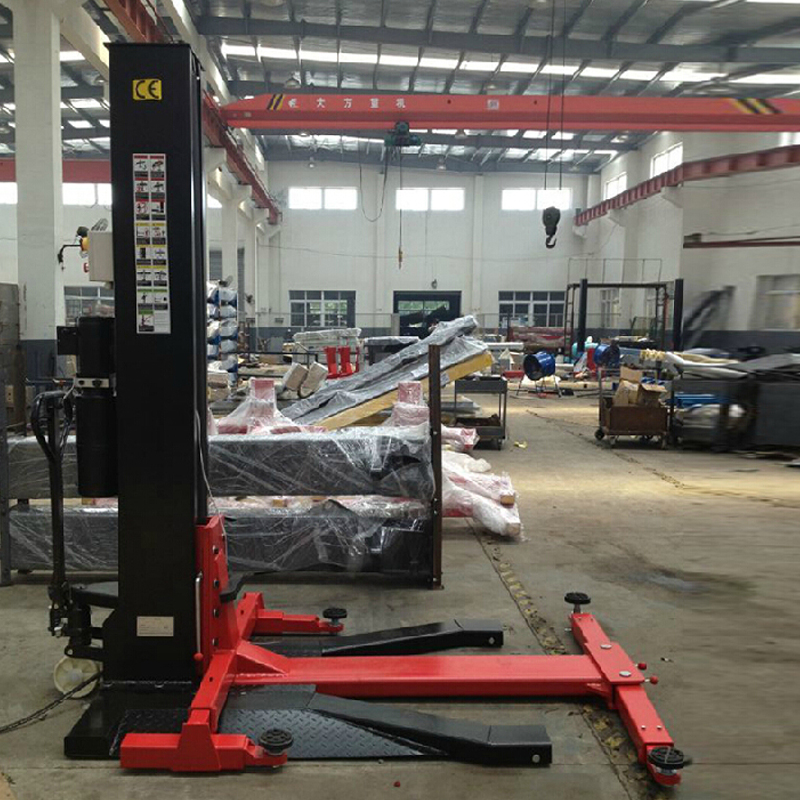 Photosynthetic Removable Single Column Lift Car Mobile Hydraulic