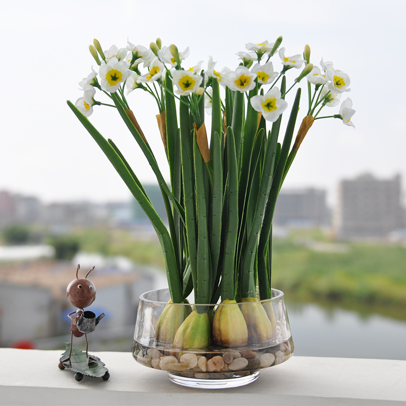 Buy Plucking Daffodils Suit Artificial Flowers Modern Fake