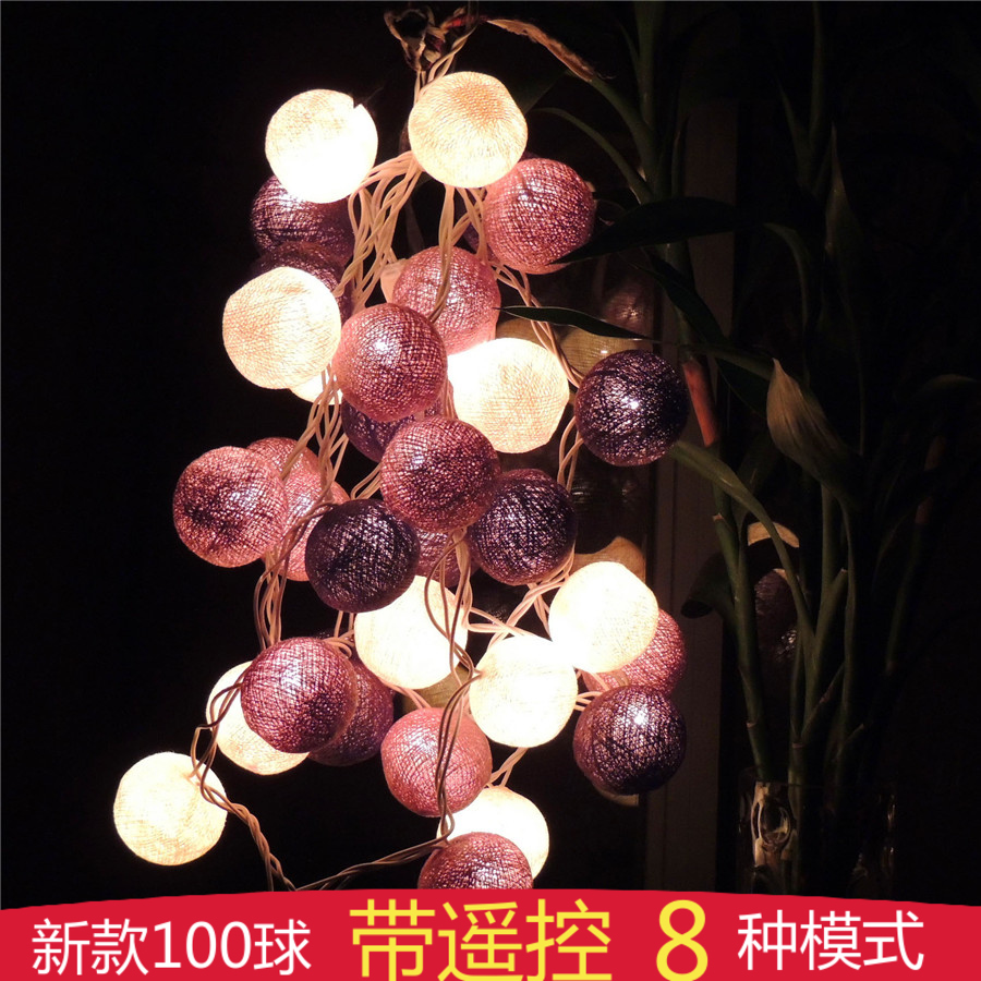 Poem Maha Thai Line Ball Lamp Lantern String Lights Wedding Flashing Battery Le D Night In Price On