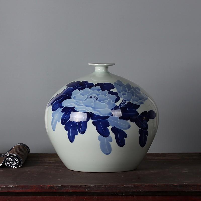 Buy Pomegranate Vase Jingdezhen Ceramics Famous Masterpieces Painted