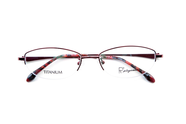 306d653dfd4 Pt titanium glasses frames myopia female eyewear frame glasses frame glasses  ultralight half frame eye glasses myopia female eyes 1320
