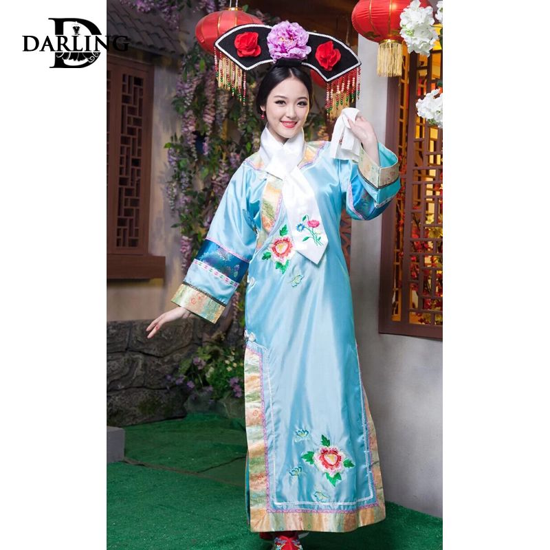 b2b3261d0 Buy Qing dynasty princess dress costume costumes costumes small main jin fu  costume princess dress ladies concubine zhen huan clothing in Cheap Price  on ...