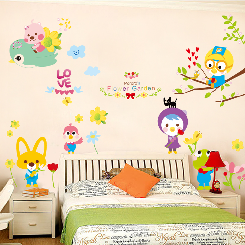buy removable wall stickers cartoon children's room decoration