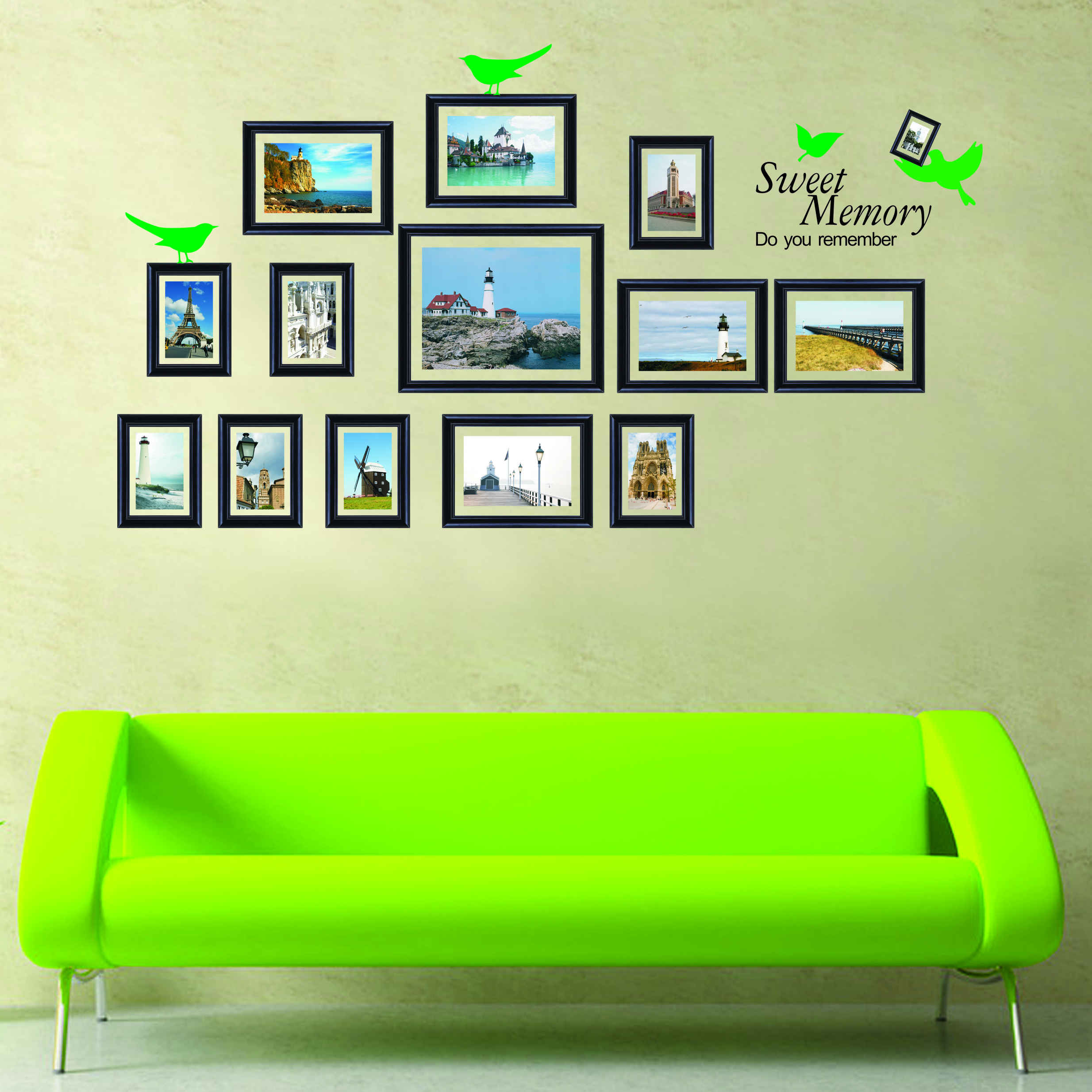 Buy Removable wall stickers living room glass wall stickers ...