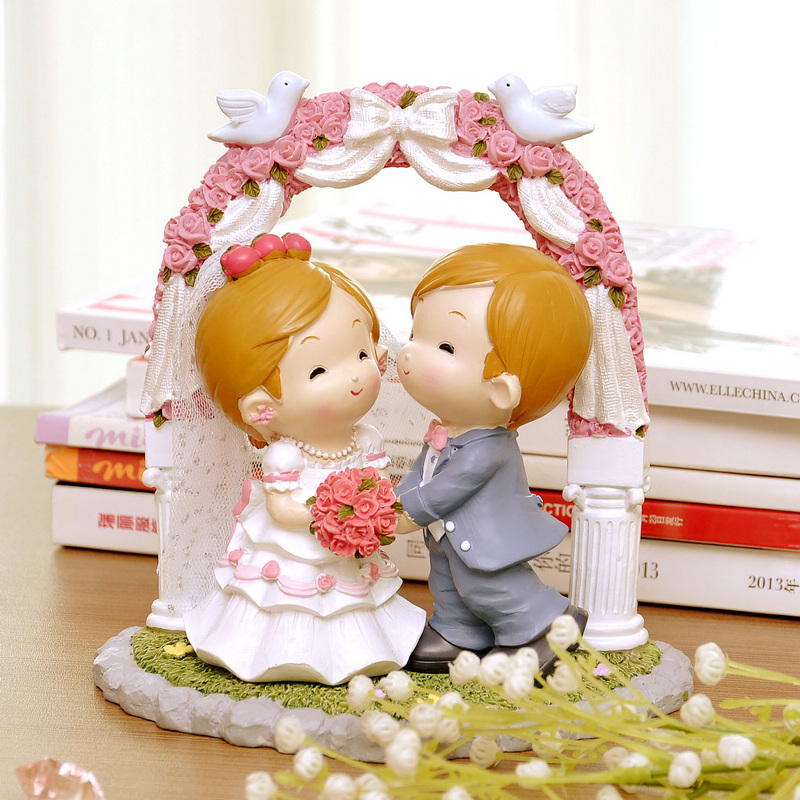 Buy Resin Ornaments Wedding Marriage Room Ornaments Wedding Gift