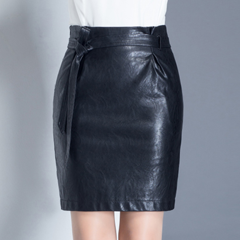 new products for discount price shop for Buy Shiny girlpu small leather skirt high pockets hip skirt ...