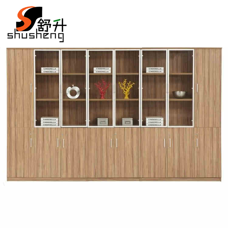 Buy Shuaring Office Furniture Wooden File Cabinet Floor Cabinet