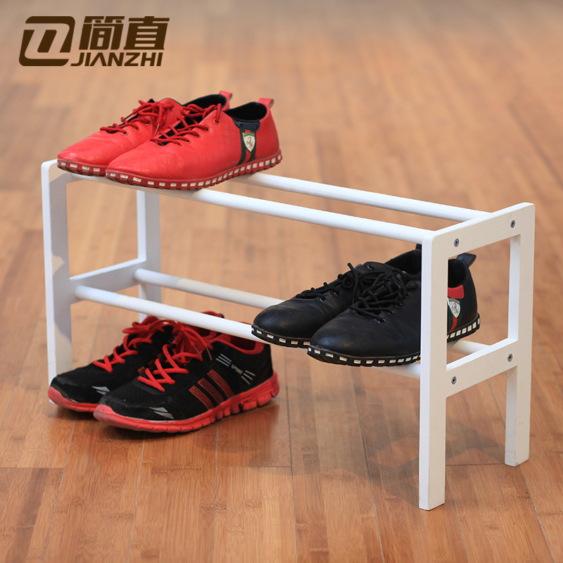 Simply Wood Multilayer Small Shoe Rack Simple Household Economic Type Embled Collection Carolina Storage Deals In Price On