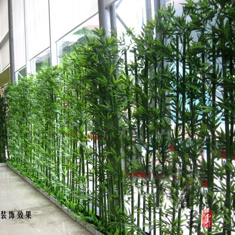Buy Simulation fake bamboo bamboo green bamboo wall panels