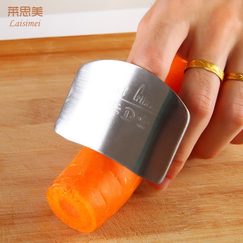 Buy Stainless steel vegetable protect hands chopping ...