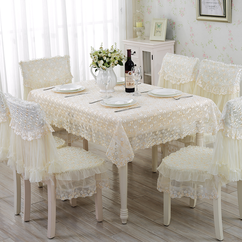 Cool Buy Table linen tablecloth round table coffee table cloth tablecloth dining chair cushion cover chair cover fabric lace minimalist modern in Cheap Price on Beautiful - Cool coffee table cover Top Search