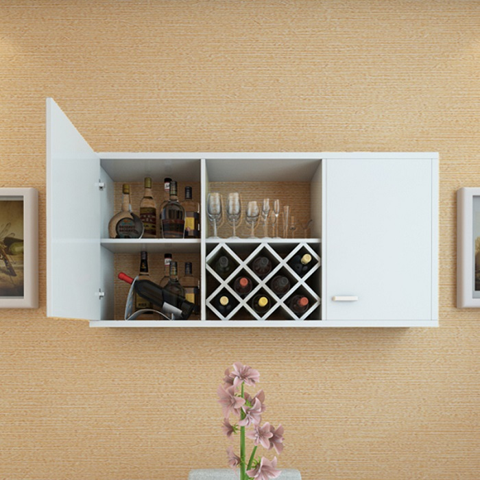 The New Wall Wine Rack Shelf Cabinet Hanging In Price On M Alibaba