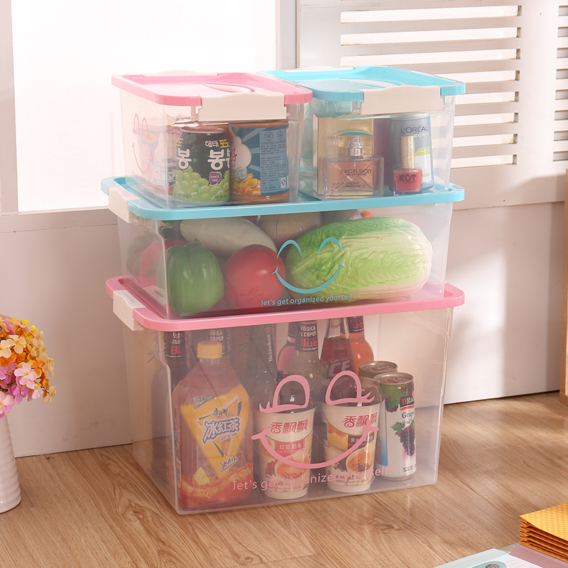 Buy Revitalization Of Transparent Plastic Storage Box Toy Storage Box  Covered Storage Box Large Thick Clothes Toy Storage Box In Cheap Price On  M.alibaba. ...