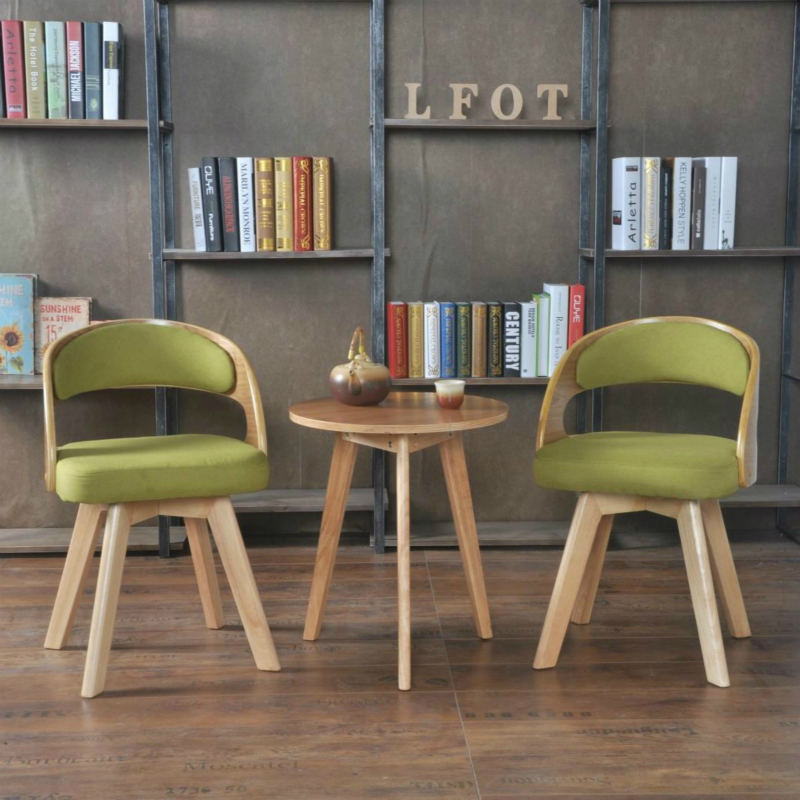 Buy Three Sets Of Solid Wood Tables And Chairs Free Shipping Balcony