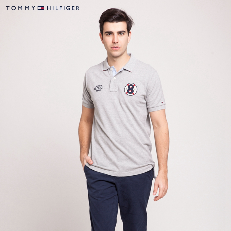 baa5673c3 Buy Tommy hilfiger men's text retro style short sleeve polo shirt-0887873138LS  in Cheap Price on m.alibaba.com