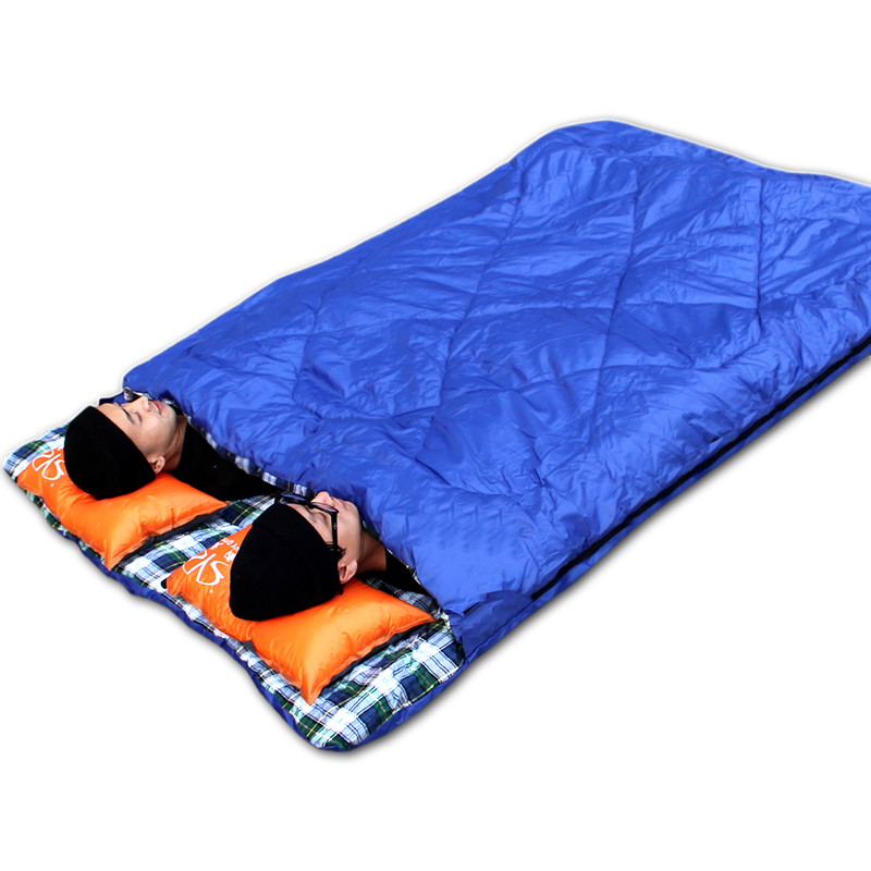 Tourist Travel Across The Dirty Sleeping Bag Students Double Indoor And Outdoor Camping Thickened Ultralight Portable Autumn Winter In