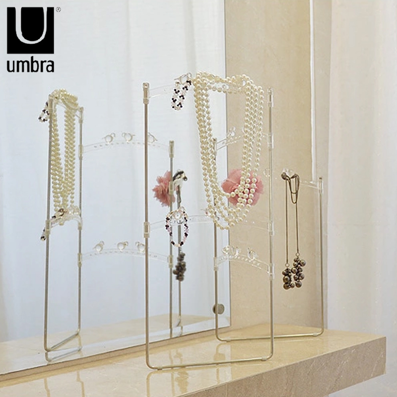 Umbra Hiwire Uneven Bars Jewelry Holder Display Stand Earring Rack Creative